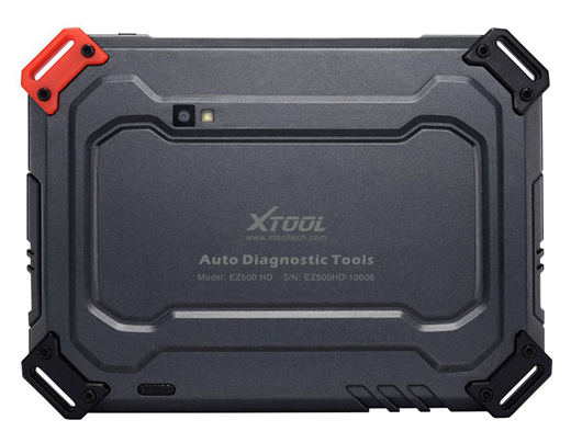 XTOOL EZ500 HD Heavy Duty Diagnosis Display 4